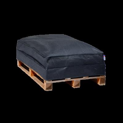 Sitzsack-Palettensofa 120 x 80 cm   Anthrazit