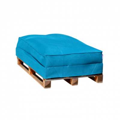 Sitzsack-Palettensofa 120 x 80 cm   Blau