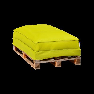 Sitzsack-Palettensofa 120 x 80 cm   Grün