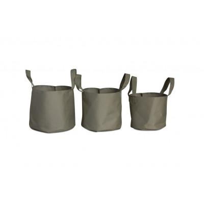 Outdoor Plant Pots Soft Pots Set/3 | Beige