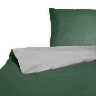 Bettbezug Solna | Grün & Grau