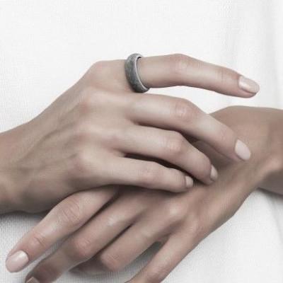 Ring 18 mm SOLE Grau
