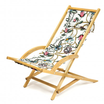 Rocking deck chair- Bugs & Butterflies Nadja Wedin
