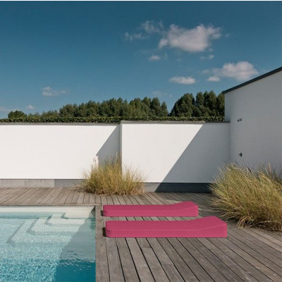 Floating lounger | Pink