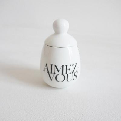 Äggcøddler Aimez-vous | Weiß
