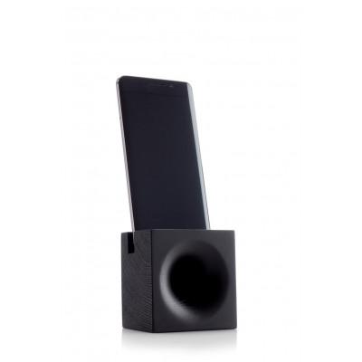 Speaker for Smartphone | Dull Black Oak
