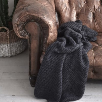 Blanket Sophie | Anthracite