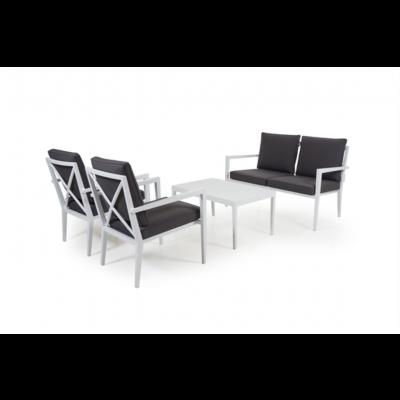 Outdoor-Lounge-Set Sorba | Weiß