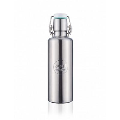Trinkflasche Soulbottle 0,6 L | Steel Basic
