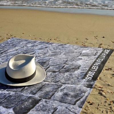 Beach Towel Sous les Pavés, la Plage | Ocean