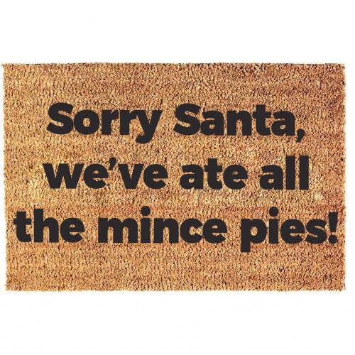 Doormat   Sorry Santa