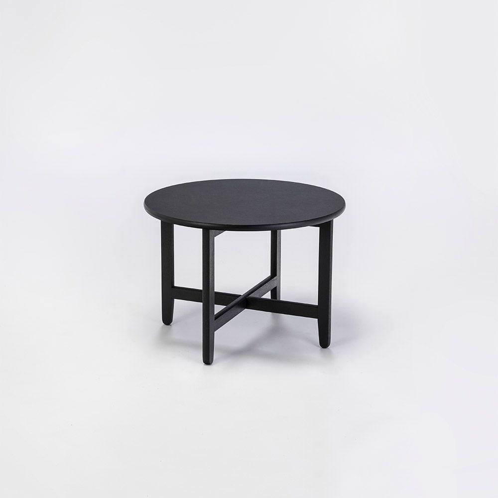 Tisch Spän Ø60 cm | Schwarz