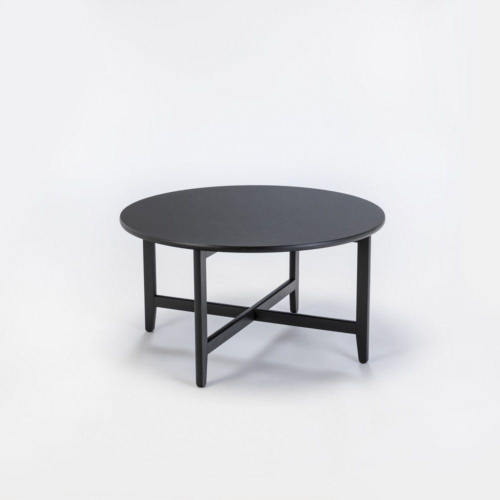 Lounge Table Spän Ø80 | Black