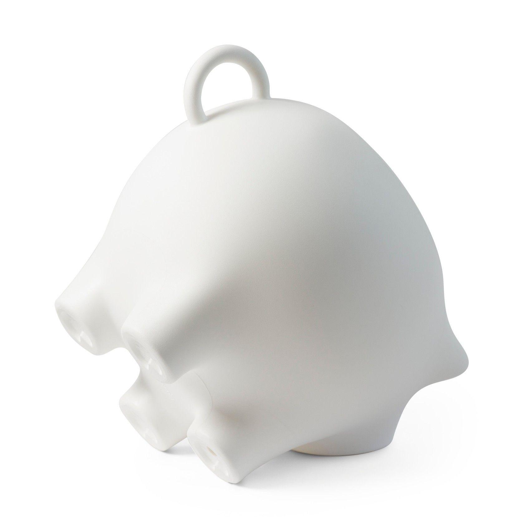 Beistelltisch Sidepig | Weiß