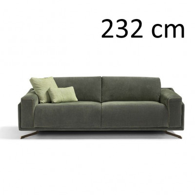 Sleeping Sofa Space L 232 cm | Green