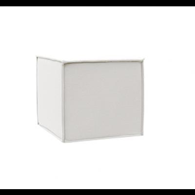 Outdoor Pouf Space | White