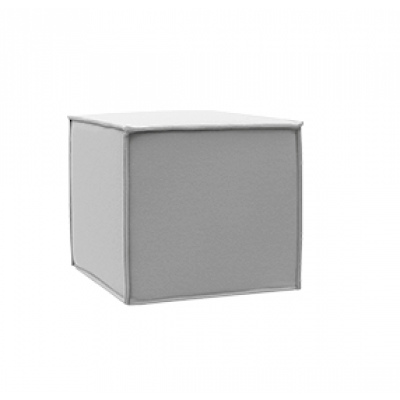Outdoor Pouf Space | Light Grey
