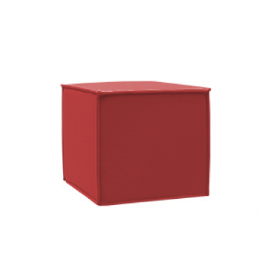 Outdoor Pouf Space | Red