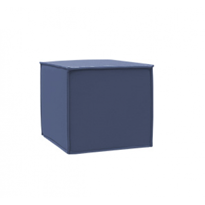 Outdoor Pouf Space | Blue
