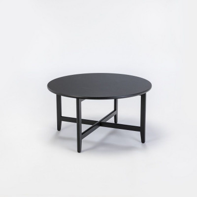 Tisch Spän Ø80 cm | Schwarz