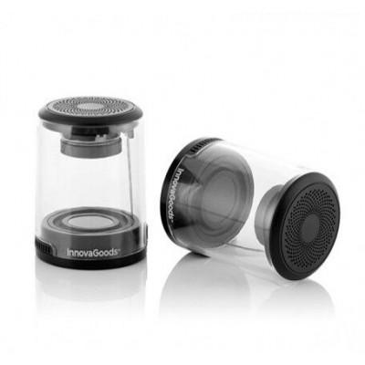 2-er Set Magnetischen Aufladbare Bluetooth-Lautsprecher   Transparant