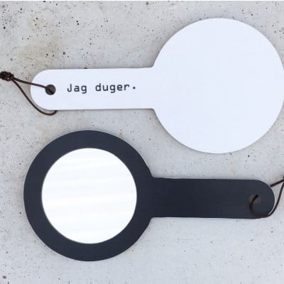 Sonja Mirror with Handle | Jag duger
