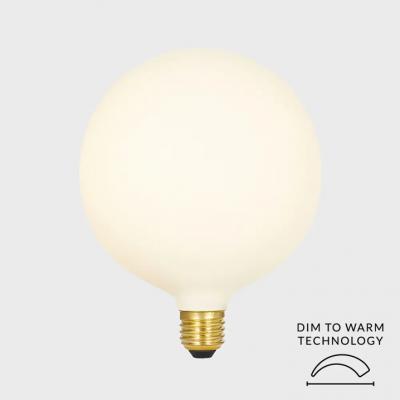 LED-Glühbirne Kugel Extra Large 8 W   Mattweiß