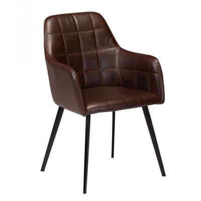 Chair Embrace Artificial Leather | Vintage Cacao