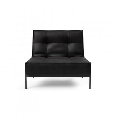 Splitback-Stuhl | Schwarz