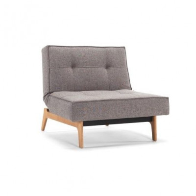 Splitback-Stuhl | Gemischter Tanz Grau