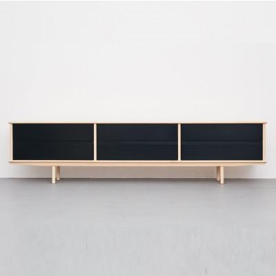 Splitter Sideboard 3 x 1 SK3 | Schwarz