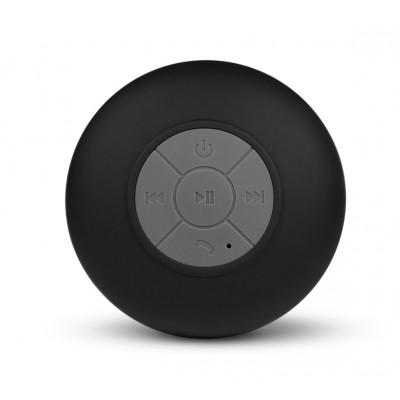 Spot   Waterproof Bluetooth Multimedia Speaker   Black