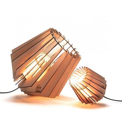 Tischlampe + Stehleuchte Mini-spot-nik (Kombi-Set) | Natürlich