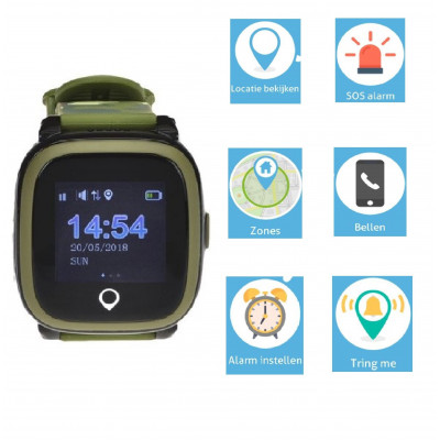 Spotter GPS Watch   Army Green