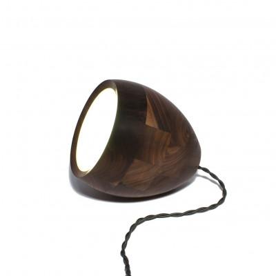 Spotty 3-in-1 lamp - Walnut black