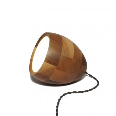Spotty 3-in-1 lamp - Walnut
