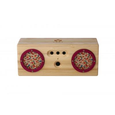 TAMBOR Natural Bamboo Bluetooth Speaker | Spring