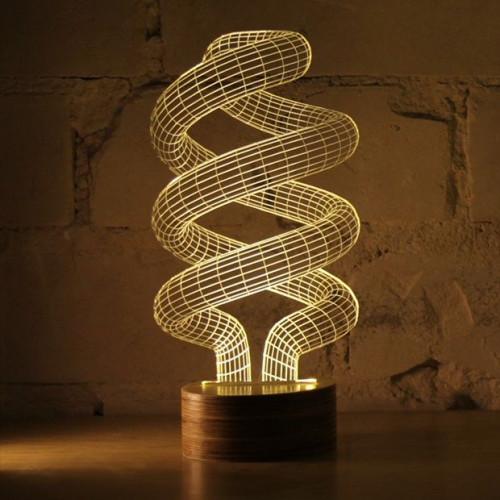 Bulbing Lamp #Spiral
