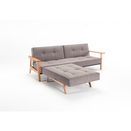 Splitback Chair   Mixed Dance Grey