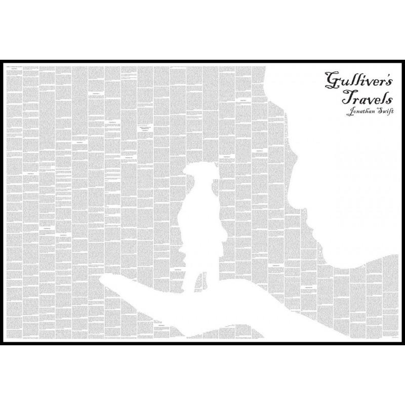 "Art Poster ""Gulliver's Travels"""