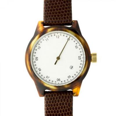 One Hand Minuteman Watch | Tortoise