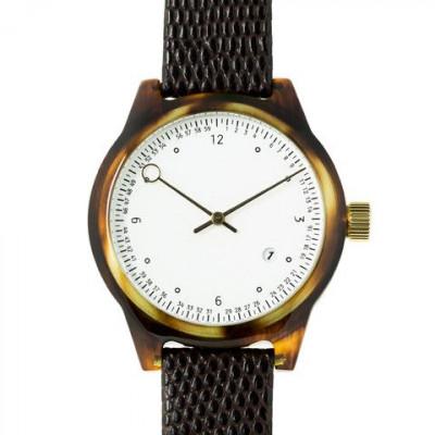 Minuteman Two Hand Watch | Tortoise