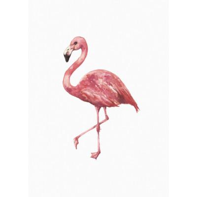 Gerahmte Leinwand | Flamingo