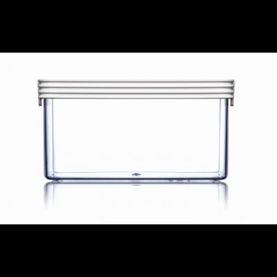 Lebensmittel-Aufbewahrungsbox Grundlagen Quadrat | Weiß-120 cl