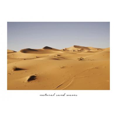 Gerahmte Leinwand | Braune Wüste