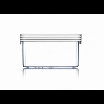 Lebensmittel-Aufbewahrungsbox Grundlagen Quadrat | Weiß-95 cl