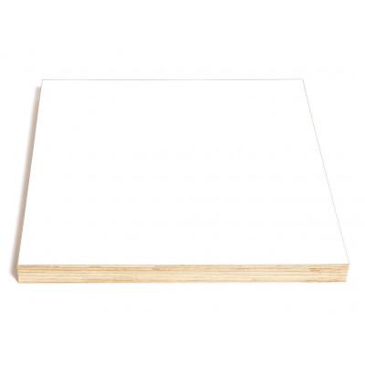 Quadratische Kreide- und Magnettafel | Weiß