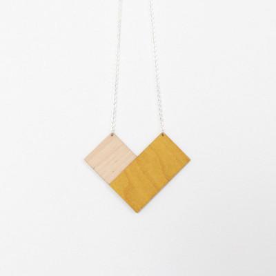 Snug. geometric square   Mustard