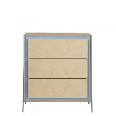 Kabinett Quadrat | Blau
