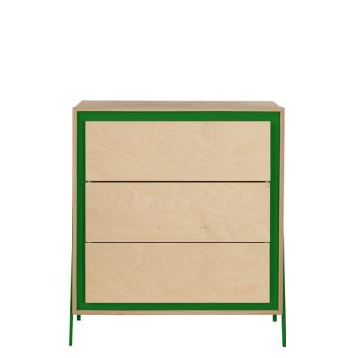 Kabinett Quadrat | Grün